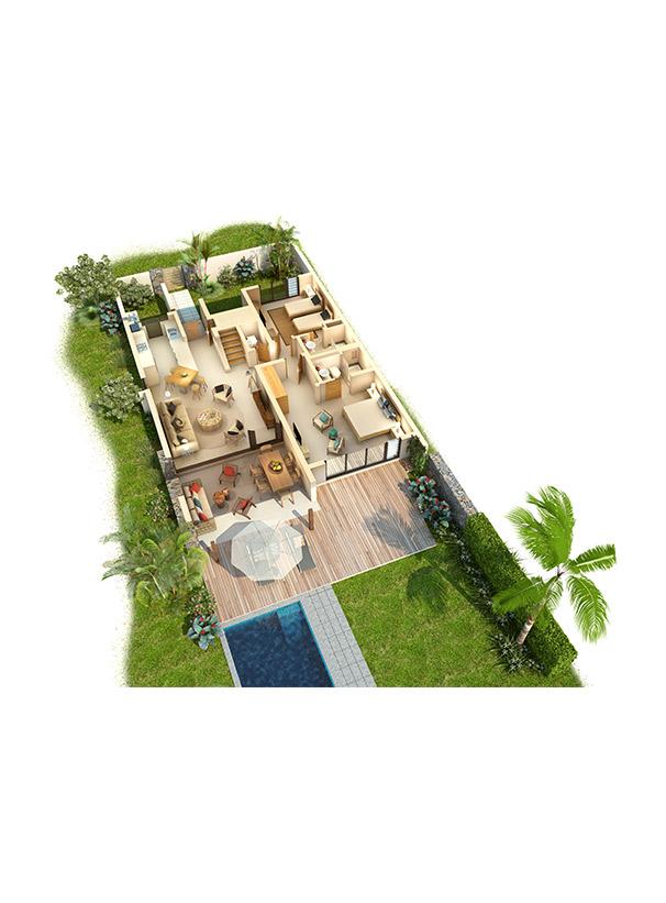 Mauritius luxury villas   Anahita Golf & Spa Resort